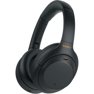 Sony WH-1000XM4 | Wireless Noise-Cancelling Over-the-Ear Headphones - Black | GizXea